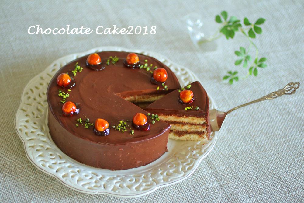 チョコレートケーキ2018