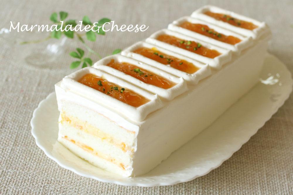 マーマレードとチーズ