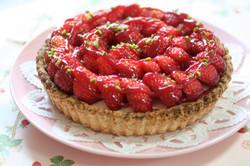 苺ヨーグルトパイ