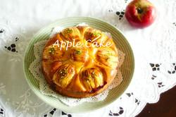 ごろんと林檎のケーキ
