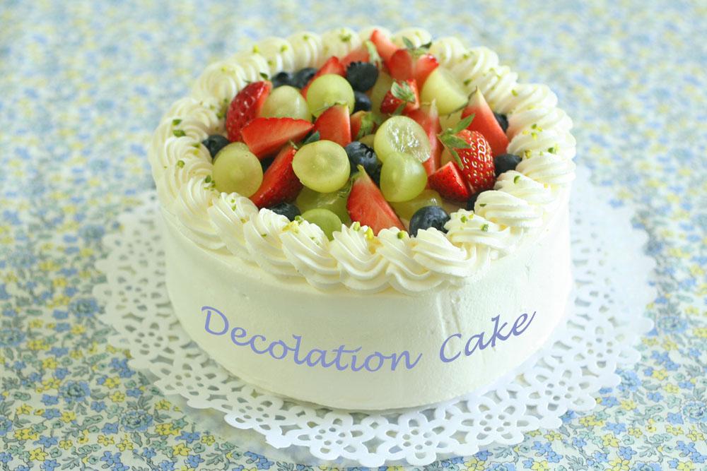 5月のデコレーションケーキ