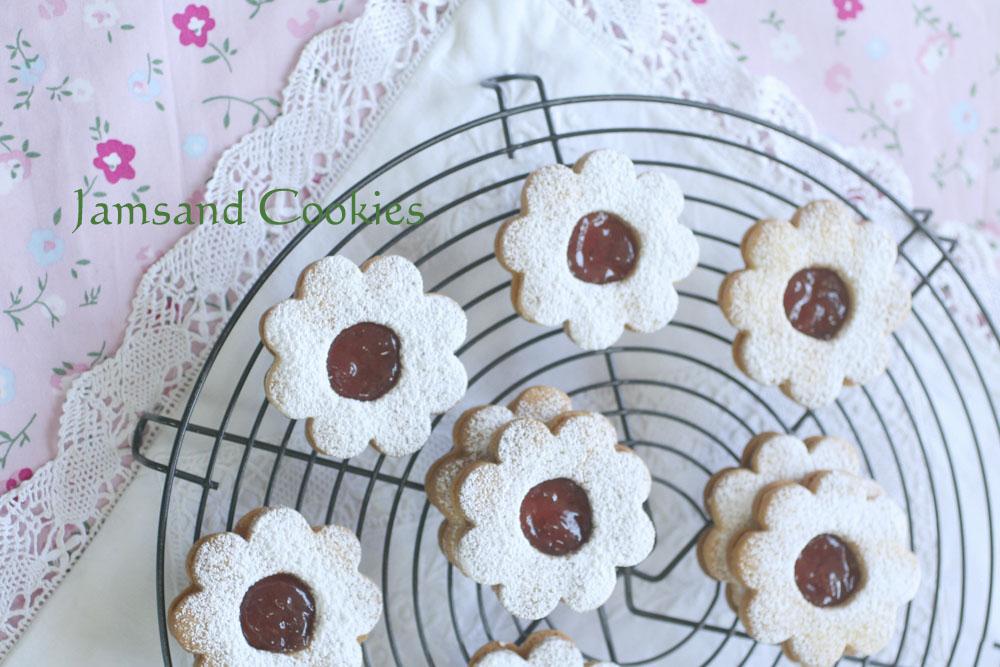 ジャムサンドクッキー
