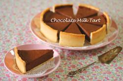チョコレートミルクタルト