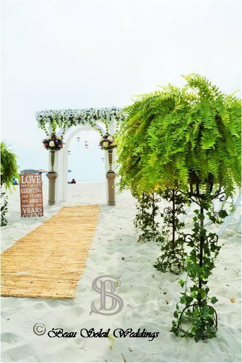 Beau Soleil Wedding - Oceanfront Ceremon