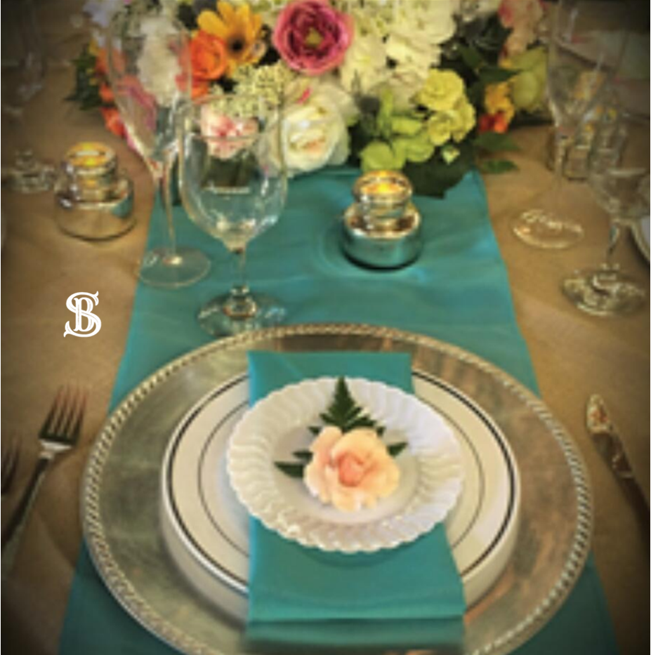 Beau Soleil Wedding - Turquoise and Burl