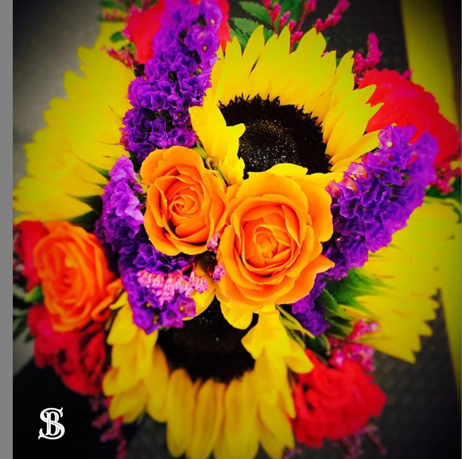 Beau Soleil Wedding - Bright Sunflower W