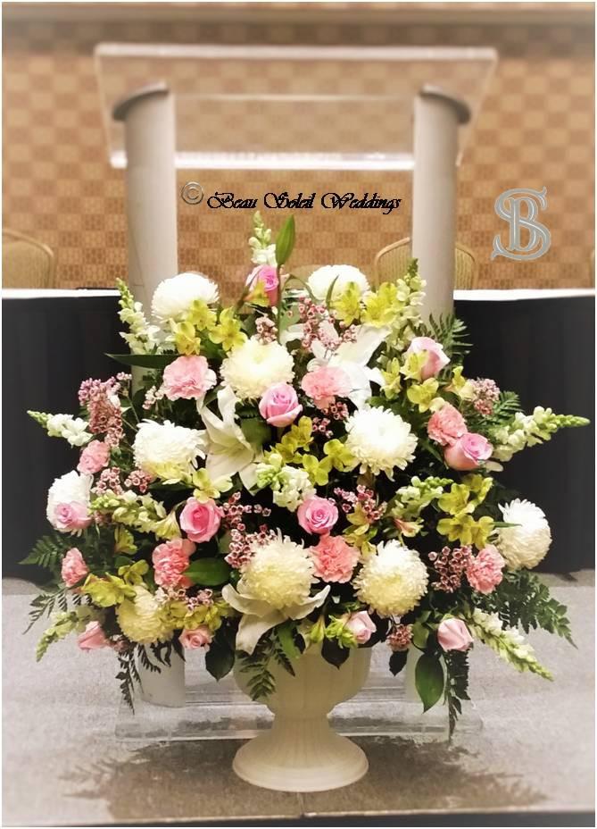 Beau Soleil Wedding - Wedding Altar Arra