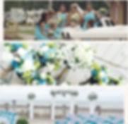 Beach Wedding Florist Oceanfront Ceremony