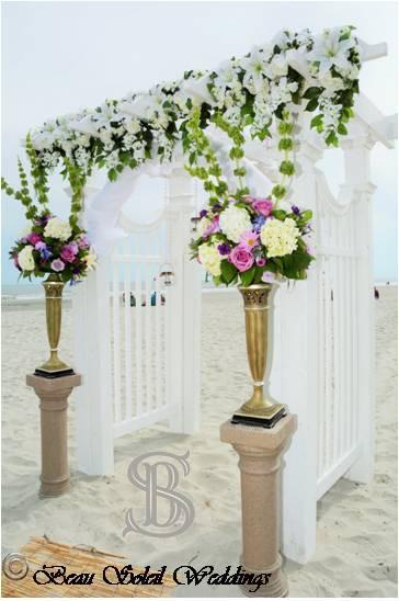 Beau Soleil Wedding - Beach Wedding Deco