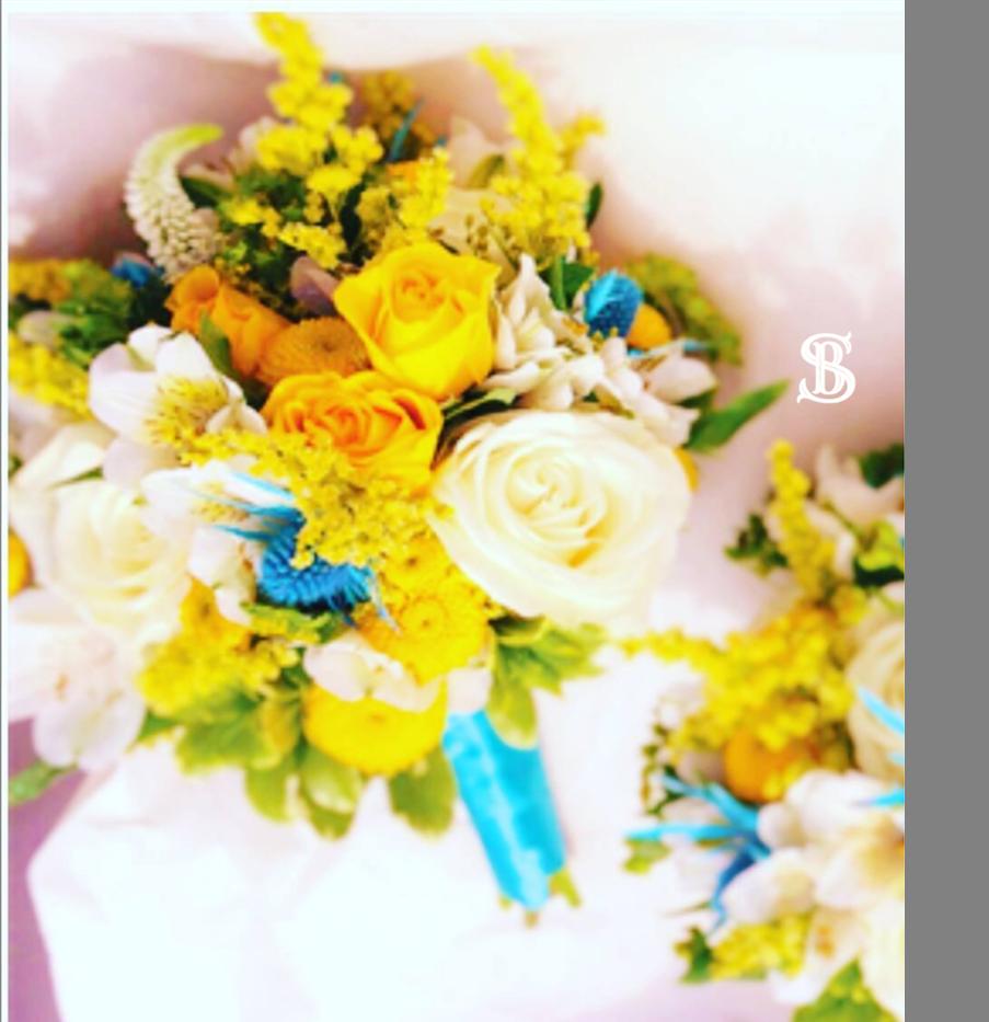 Beau Soleil Wedding - Turquooise and Yel