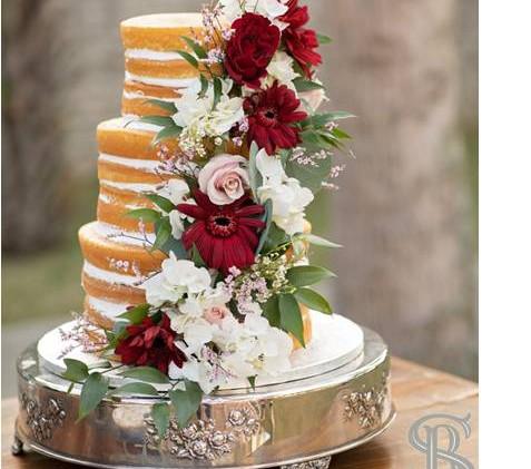 Beau Soleil Weddings - Wedding cake with