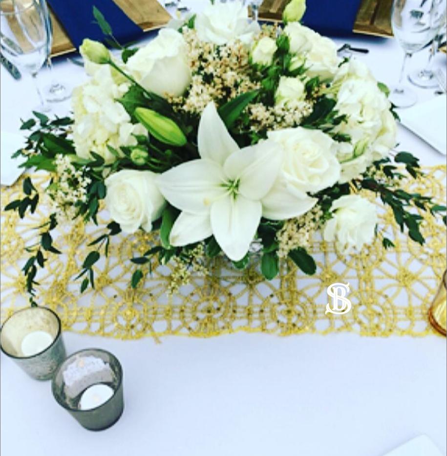 Beau Soleil Wedding - Navy and Gold Wedd