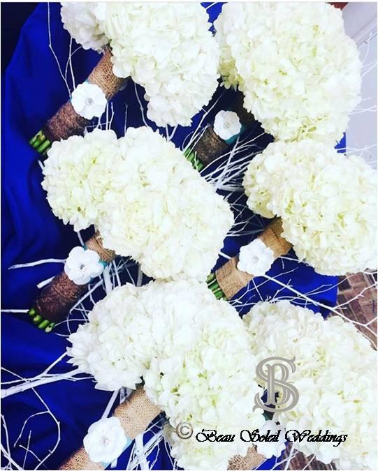 Beau Soleil Wedding - Hydrangea Bridal B