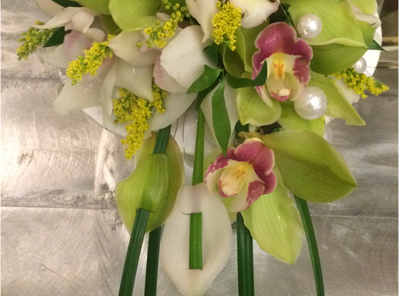 Beau Soleil Wedding - Green and White Cy