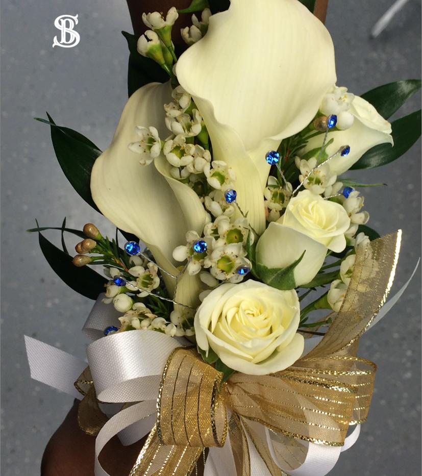Beau Soleil Wedding - Wristlet Corsage.p