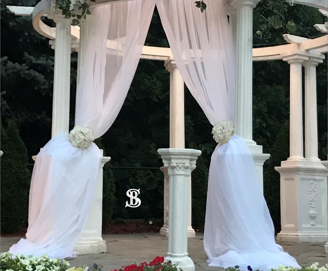 Beau Soleil Wedding -Lavender & White Ga