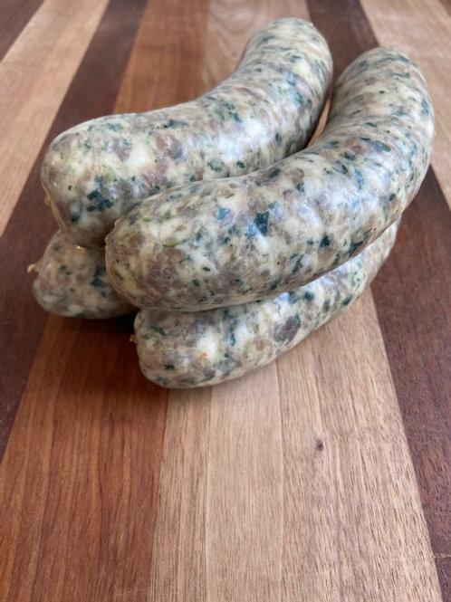 Roast Shiitake Seasonal Sausage