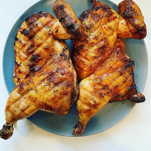 Brined/Marinated Half Chickens