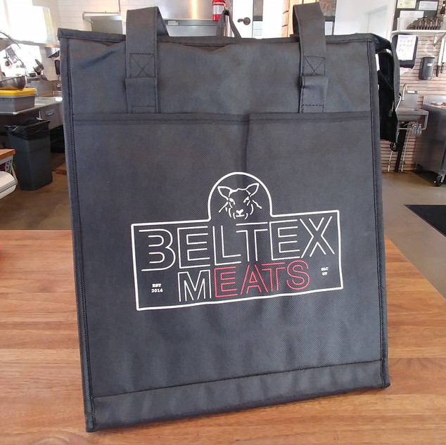 Included Insulated Tote Bag