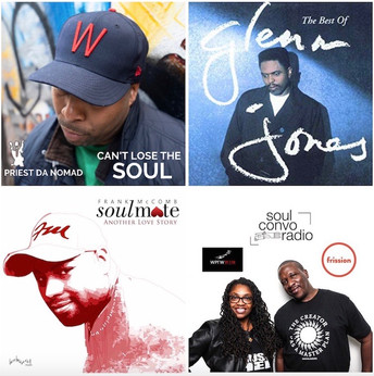 Soul Conversations Radio Ep. 167 part 2 Priest Da Nomad, Glenn Jones, Frank McComb Interviews
