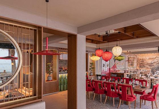 Mao interior restaurant
