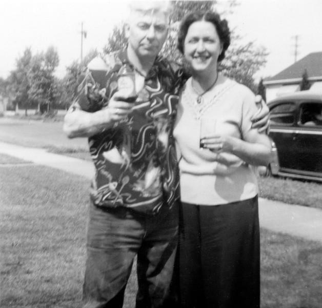 Dondald Dixon Fletcher with Frieda M Barker