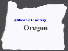 State-of-Oregon - Masonic Cemetery - Alb