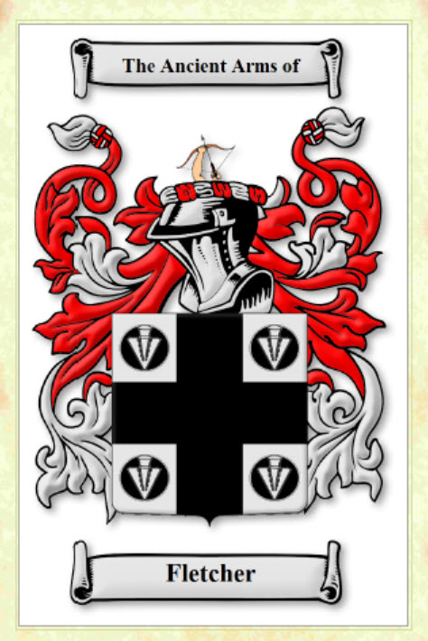 Fletcher - Coat of Arms