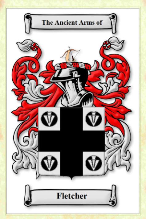 Fletcher - Coat of Arms