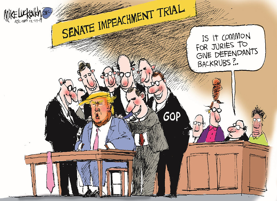 Trump - The Senate Impeachment Trial - 2
