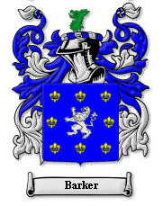 Barker - Coat of Arms