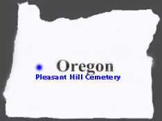 State-of-Oregon -Pleasant Hill Cemetery.