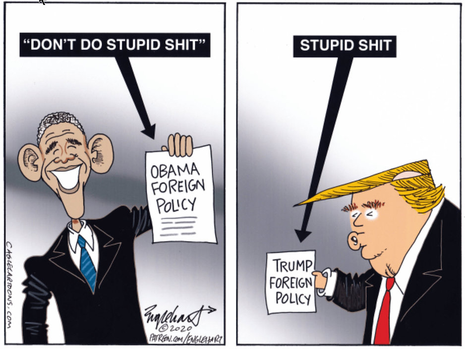 Trump - foreign Policy - Stupid ....jpg