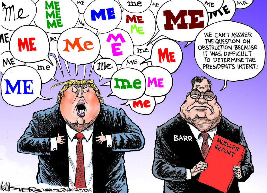 Trump - Mueller Report. - Obstruction.jp