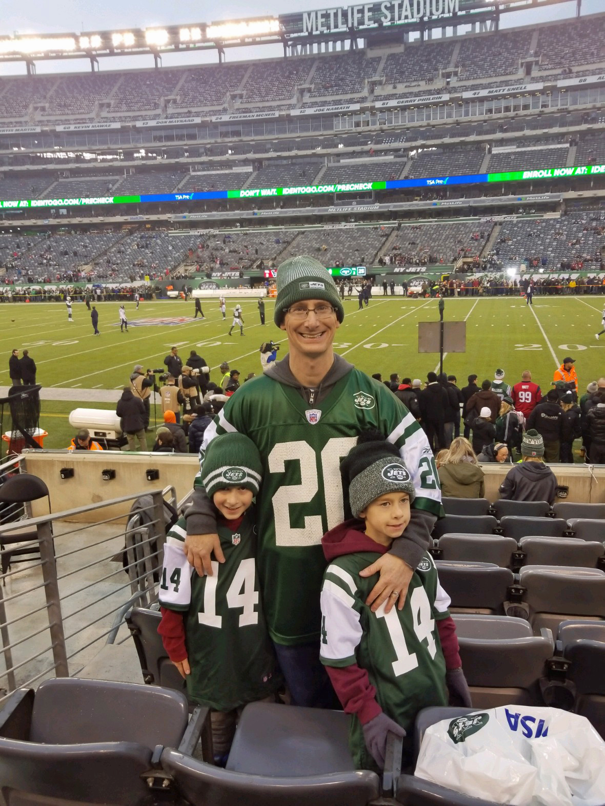 NY Jets Game