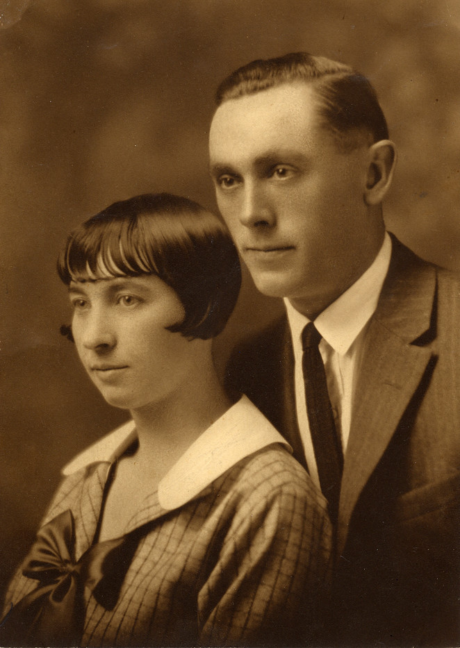 Clara Marie with Y.B. McKown