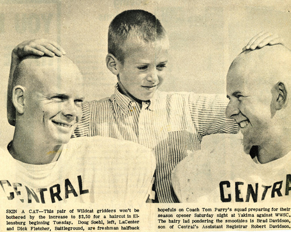 Varsity Initiation - Central Washington university - Football