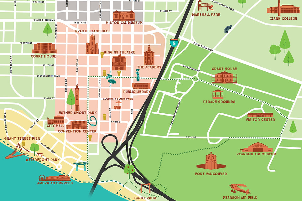 Vancouver, Washington - Map of Downtown.jpg