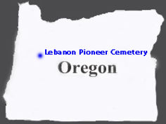 State-of-Oregon - Lebanon Pioneer Cemete