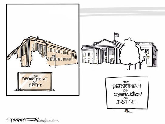 Trump - The Department of Obstruction of