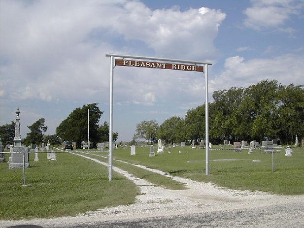 Pleasant Ridge Cemetery, Kansas.jpg