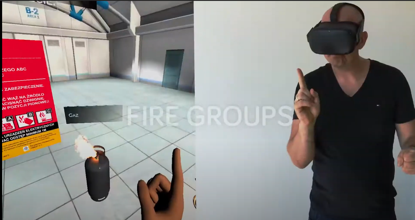 ehs vr burns first aid virtual reality (