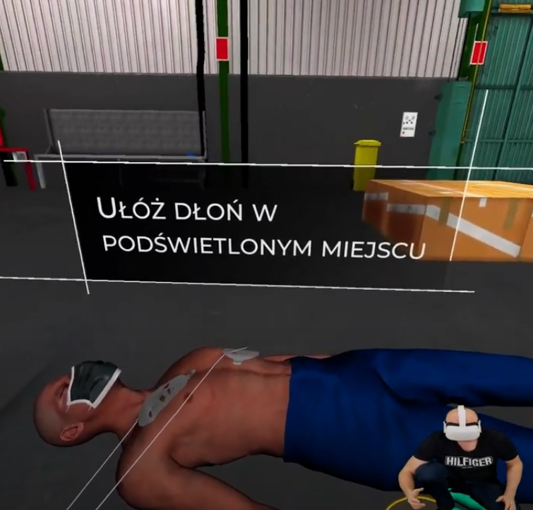 first aid vr pierwsza pomoc virtual real