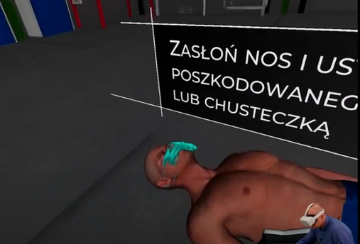 first aid vr pierwsza pomoc virtual real