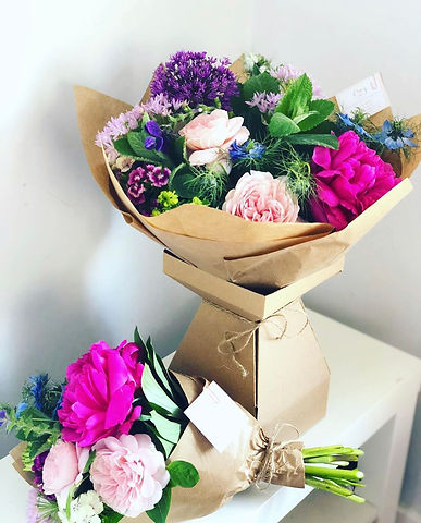 Seasonal Flower Gift Bouquets for Wedding Party, Mother's Day, Birthday, Anniverseries