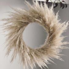 Fluffy Pampas Wreath
