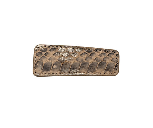 Python Leather Pin