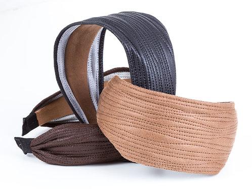 Maya Vegan Leather Headband