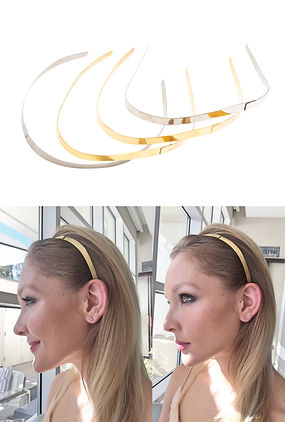 Ficcare Adele Forward Wave headband