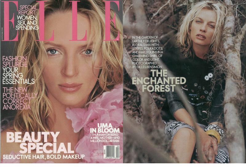 Ficcare in Elle Magazine